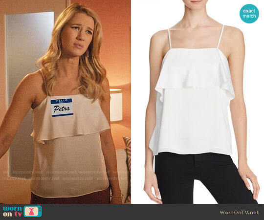 Elizabeth and James Abby Top worn by Yael Grobglas on Jane the Virgin