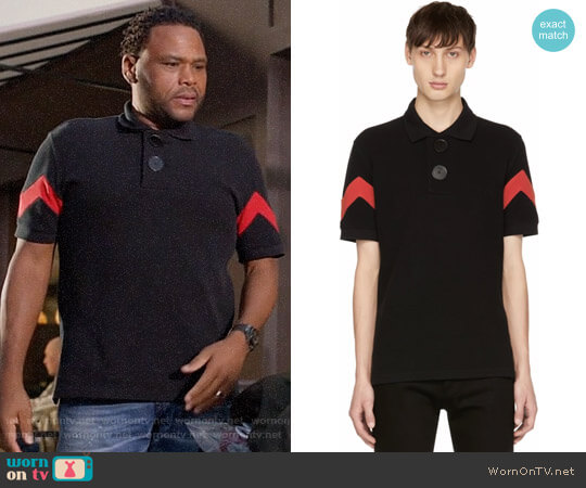 Givenchy Oversized Polo worn by Anthony Anderson on Blackish