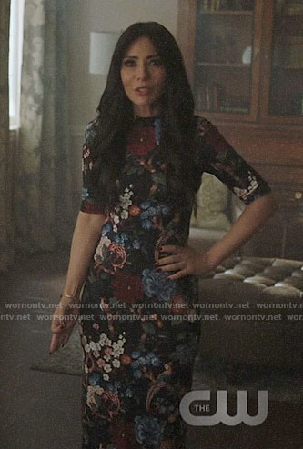 Hermione's floral dress on Riverdale