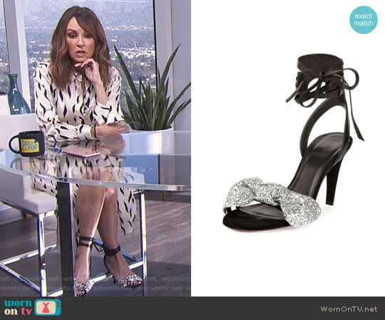 'Akynn' Sandal by Isabel Marant worn by Catt Sadler  on E! News