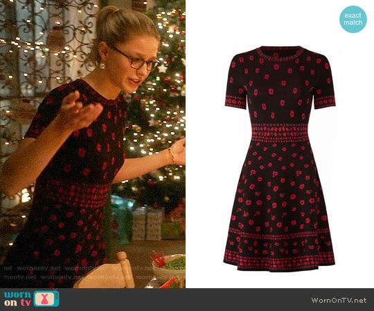 Kate Spade Poppy Sweater Dress worn by Melissa Benoist on Supergirl