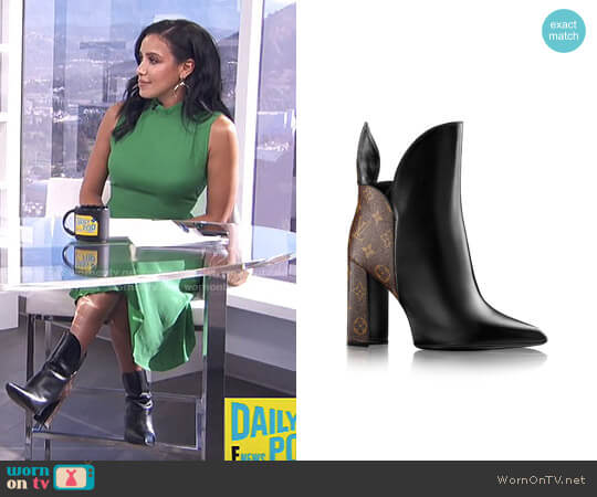 Rodeo Queen Ankle Boot by Louis Vuitton worn by Julissa Bermudez on E! News