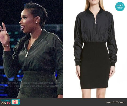 Opening Ceremony Bomber Dress worn by Jennifer Hudson  on The Voice