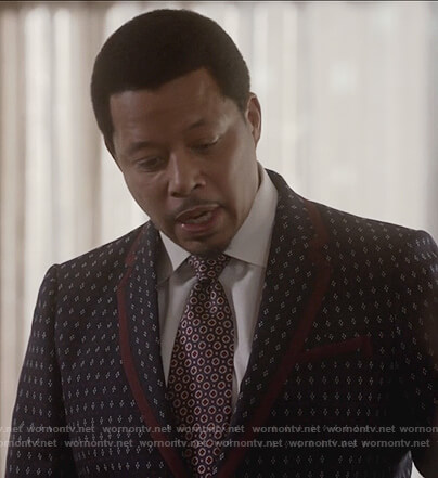 Lucious's print suit on Empire