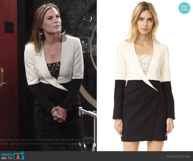 Three Floor Vice Versa Dress worn by Phyllis Newman (Gina Tognoni) on The Young & the Restless