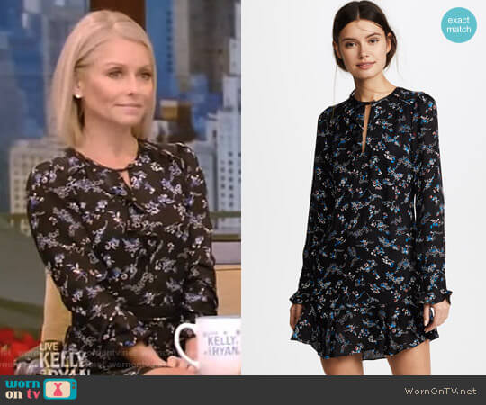 'Preston' Dress by Veronica Beard worn by Kelly Ripa  on Live with Kelly & Ryan