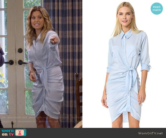 Veronica Beard Sierra Dress worn by Candace Cameron Bure on Fuller House