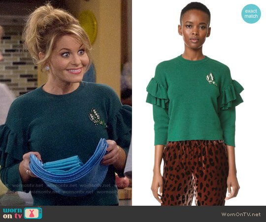 Vivetta Ribe Sweater worn by Candace Cameron Bure on Fuller House