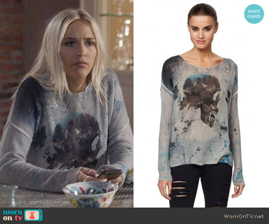 360 Cashmere Thunder Sweater worn by Maddie Jaymes (Lennon Stella) on Nashville