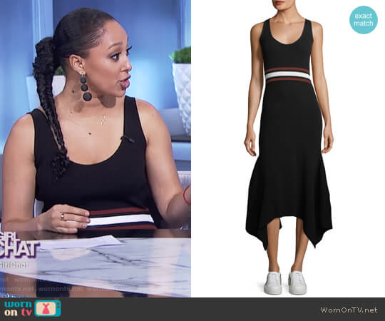 Anders Dress by ALC worn by Tamera Mowry on The Real