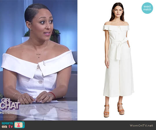 Evy Jumpsuit by Alexis worn by Tamera Mowry  on The Real