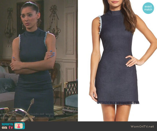 Falling For You Minidress by Ali & Jay worn by Camila Banus on Days of our Lives