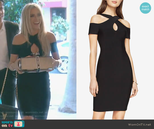 'Ally' Dress by Bcbgmaxazria worn by Teddi Mellencamp Arroyave on The Real Housewives of Beverly Hills