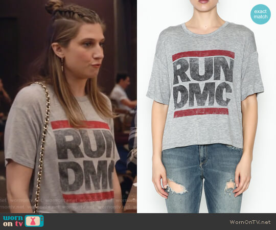 Run DMC Band Tee by DayDreamer worn by Emily Arlook on Grown-ish