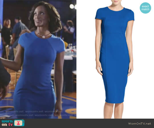 Ward Seamed Pencil Dress by Felicity & Coco worn by Kara Fowdy (Skye Marshall) on Black Lightning