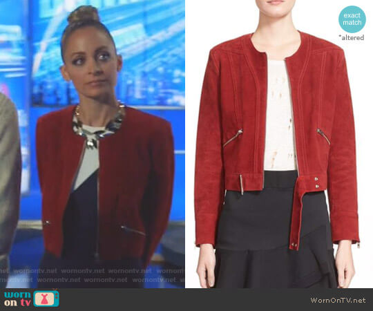 'Tatiana' Jacket by IRO worn by Nicole Richie on Great News