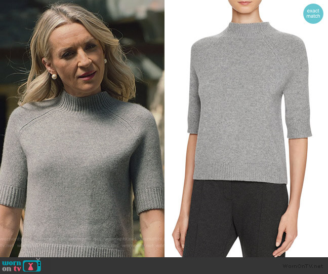 Jodi B Cashmere Sweater by Theory worn by Ever Carradine on Marvels Runaways