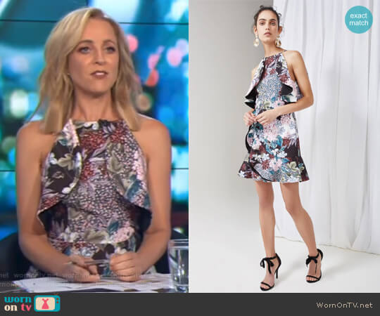 Lost Dreams Dress by Keepsake worn by Carrie Bickmore  on The Project