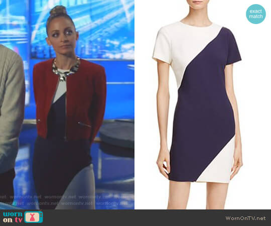 Color Block Manhattan Dress by Likely worn by Nicole Richie on Great News