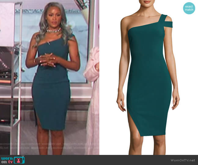 Packard One-Shoulder Dress by Likely worn by Eve on The Talk