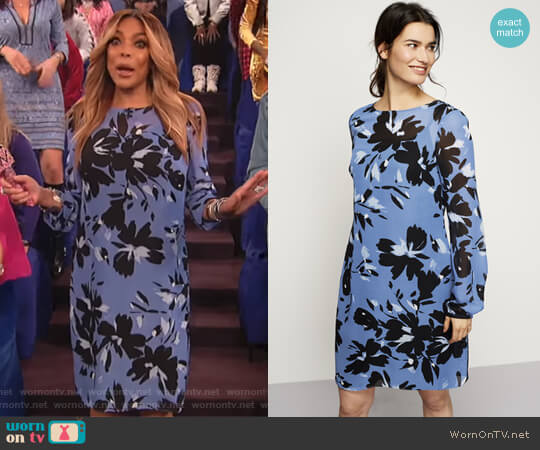 Chiffon Petal Soft Dress by Long Tall Sally worn by Wendy Williams  on The Wendy Williams Show