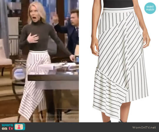 'Lucci' Skirt by Tibi worn by Kelly Ripa on Live with Kelly & Ryan
