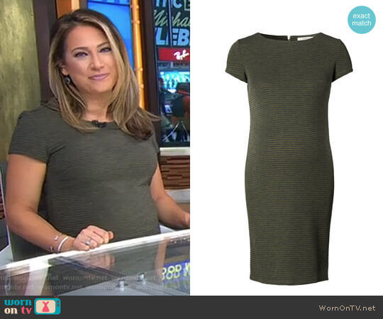 'Zinnia' Maternity Dress by Noppies worn by Ginger Zee on Good Morning America