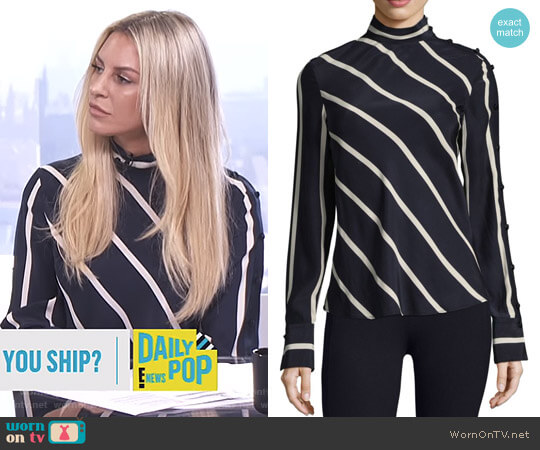 'Bretton' Top by Rag & Bone worn by Morgan Stewart (Morgan Stewart) on E! News