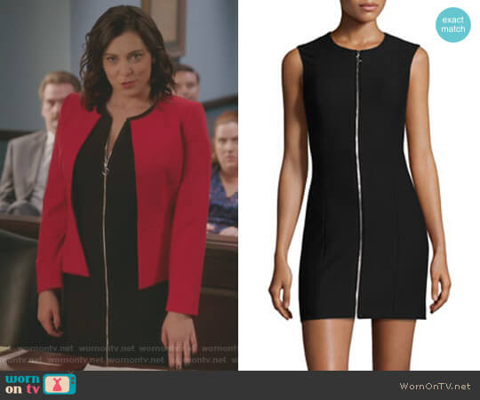 'Susannah' Mini Dress by Elizabeth and James worn by Rachel Bloom on Crazy Ex-Girlfriend