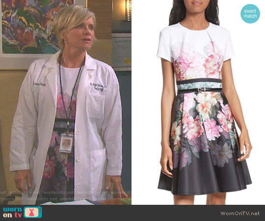 'Valerey' Dress by Ted Baker worn by Mary Beth Evans on Days of our Lives