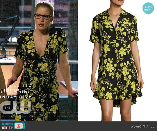 ALC Kayden Dress worn by Felicity Smoak (Emily Bett Rickards) on Arrow
