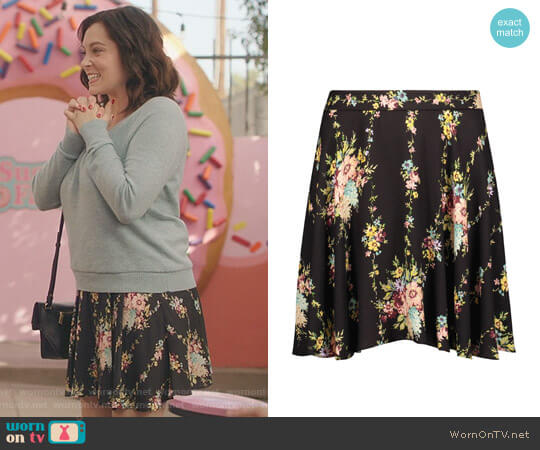 'Blaise' Skirt by Alice + Olivia worn by Rachel Bloom on Crazy Ex-Girlfriend