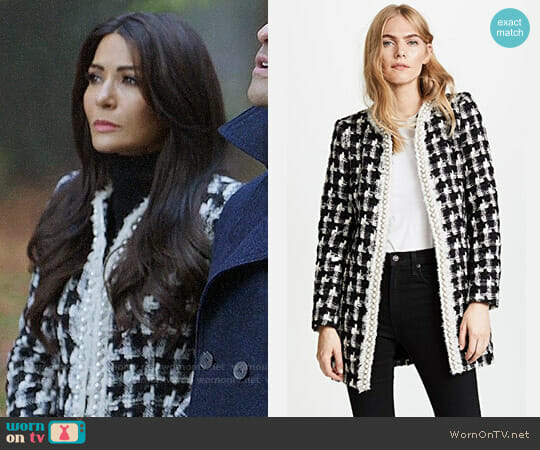 Alice + Olivia Andreas Jacket worn by Marisol Nichols on Riverdale