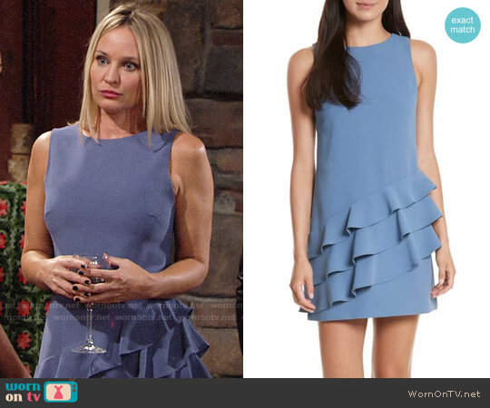 Alice + Olivia Clive Dress worn by Sharon Collins (Sharon Case) on The Young & the Restless