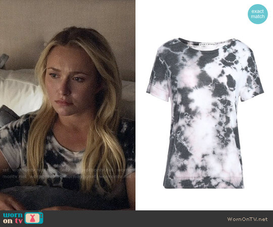 Alice + Olivia Tie Dye T-shirt worn by Juliette Barnes (Hayden Panettiere) on Nashville