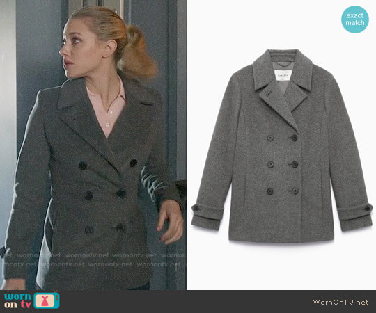Babaton Tarquin Coat worn by Betty Cooper (Lili Reinhart) on Riverdale