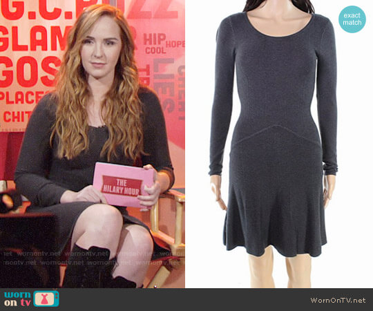 Bcbgeneration A-Line Sweater Dress worn by Camryn Grimes on The Young & the Restless