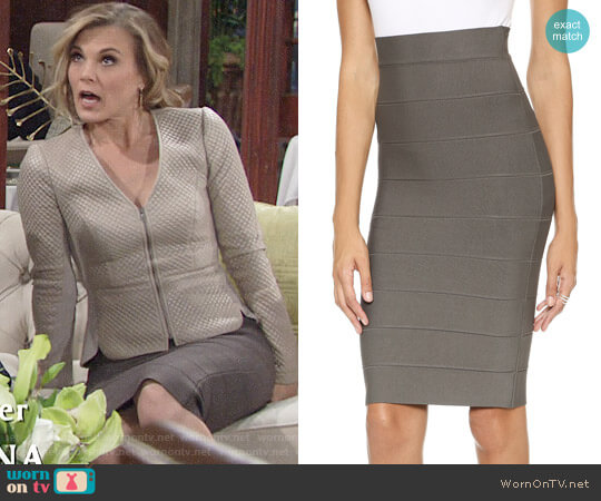 Bcbgmaxazria Leger Skirt worn by Gina Tognoni on The Young & the Restless