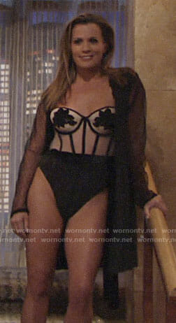 Chelsea's lingerie on The Young and the Restless