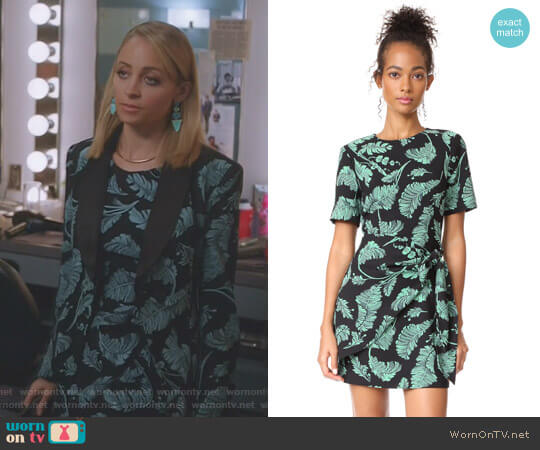 'Bia' Dress by Cinq a Sept worn by Nicole Richie on Great News