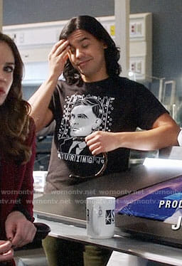 Cisco's Alan Turing t-shirt on The Flash
