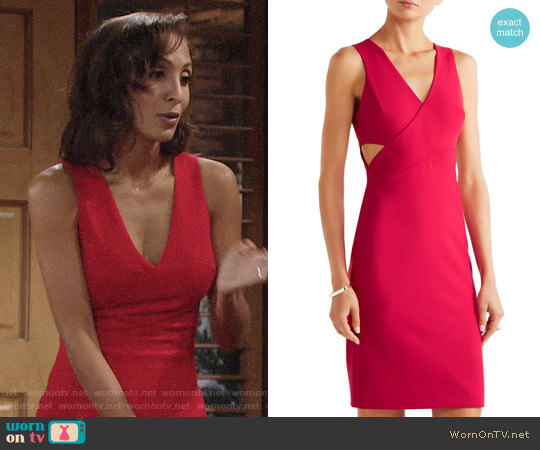 Elizabeth and James Aldridge Dress worn by Christel Khalil on The Young & the Restless
