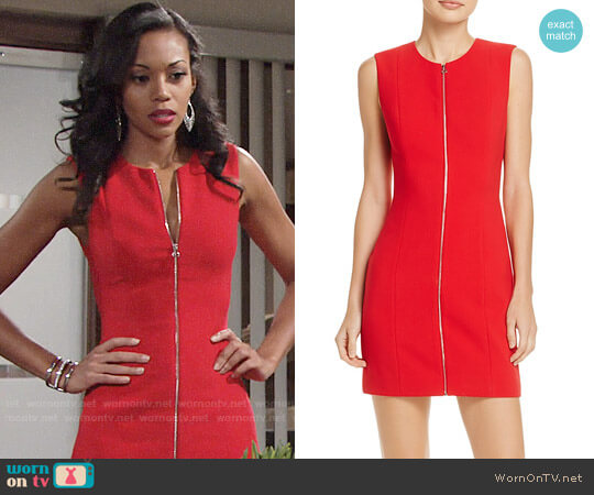 Elizabeth and James Susannah Dress worn by Hilary Curtis (Mishael Morgan) on The Young & the Restless