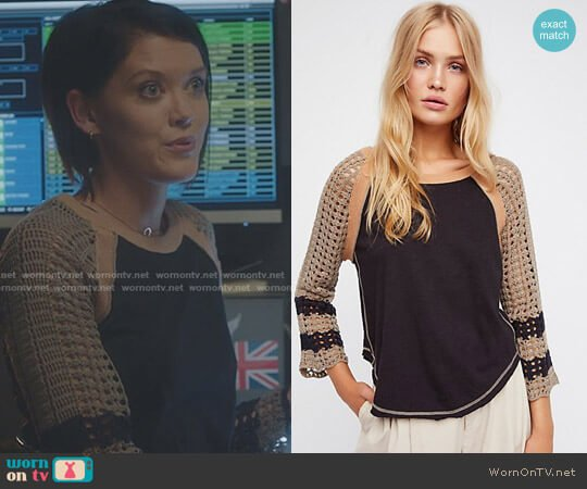 Finders Keepers Tee by Free People worn by Hayley Lovitt on The Gifted