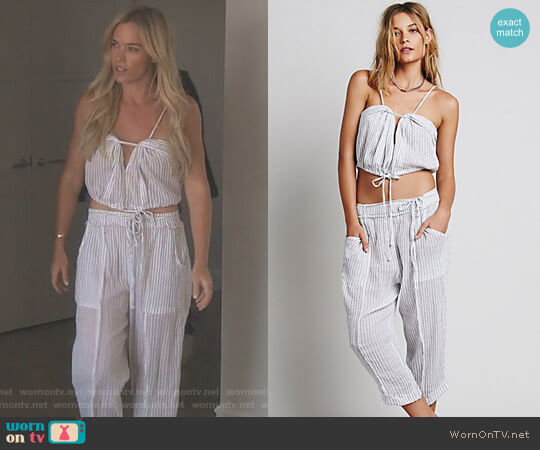 Pull It Up by Free People worn by Teddi Mellencamp Arroyave on The Real Housewives of Beverly Hills