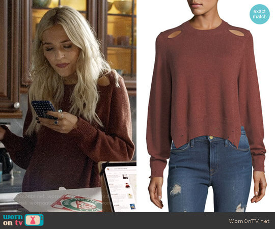 Etoile Isabel Marant Kelia Sweater worn by Maddie Jaymes (Lennon Stella) on Nashville