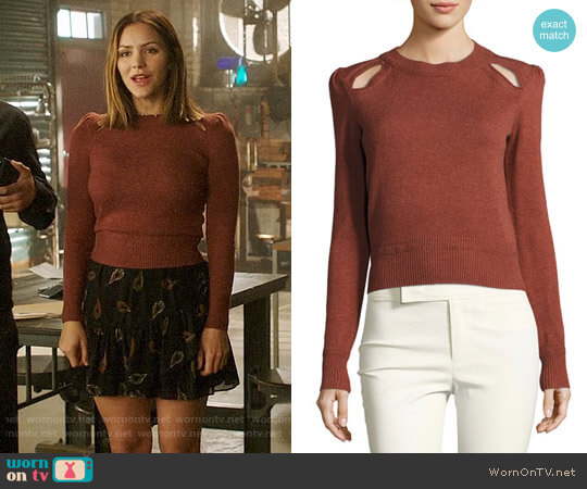 Isabel Marant Klee Sweater worn by Paige Dineen (Katharine McPhee) on Scorpion