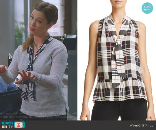 'Estero' Top by Joie worn by Katherine Wendelson (Briga Heelan) on Great News