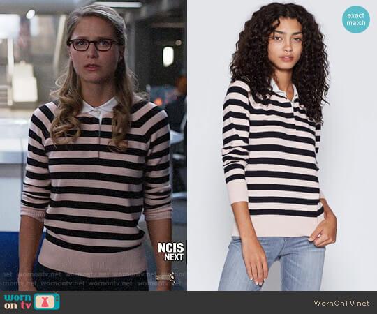Joie Gabbe Sweater worn by Melissa Benoist on Supergirl