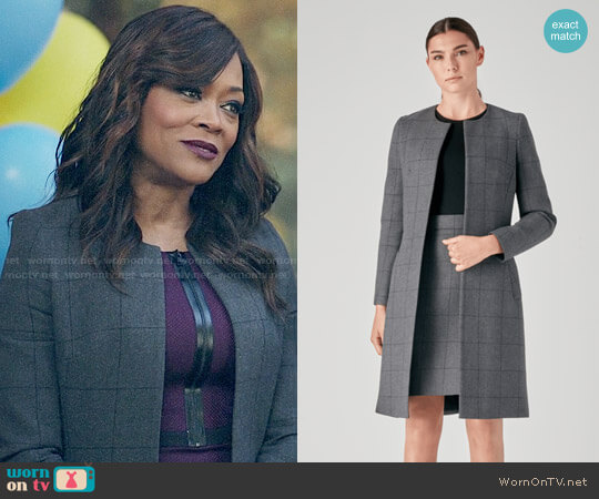 Judith & Charles Goodman Jacket worn by Robin Givens on Riverdale